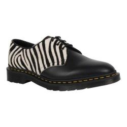 Dr. Martens 1460 8-Eye Boot Black/Zebrino Smooth Leather