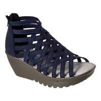 Women's Skechers Parallel Dream Queen Wedge Sandal Navy