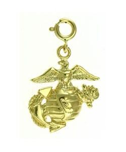 14k Gold United States Marine Corps Emblem