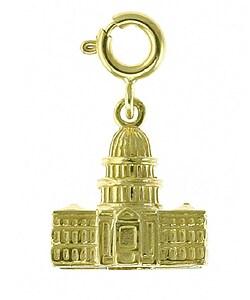 14k Gold 3-D US Capitol Building