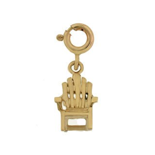 14k Gold Beach Chair Charm