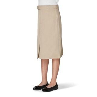 French Toast Kick Pleat Skirt Girls