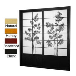 Bamboo Tree Shoji Sliding Door Kit (China)