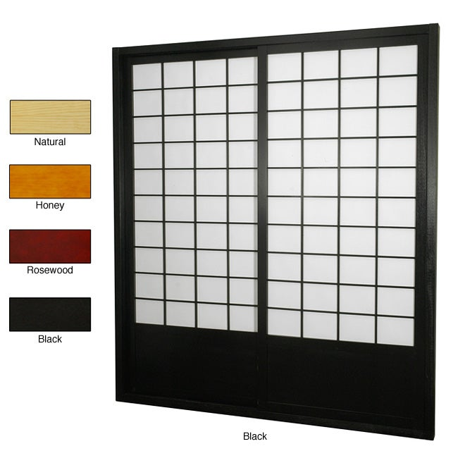 Handmade Zen Shoji Sliding Door Kit (China)