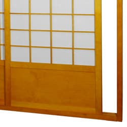 Handmade Zen Shoji Double-Sided Sliding Door Kit (China) - Thumbnail 2