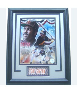 Tony Gwynn Hall of Fame Deluxe Framed Print