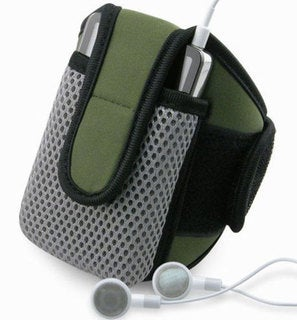INSTEN SportBand with Olive iPod Case Cover for Zune/ iPod Video