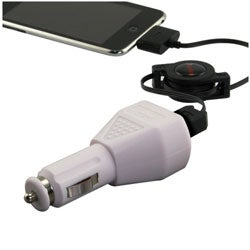 INSTEN Universal USB Car Charger Adapter, for Apple iPhone 4/ 4S/5/ 5S/ 6 - Thumbnail 2