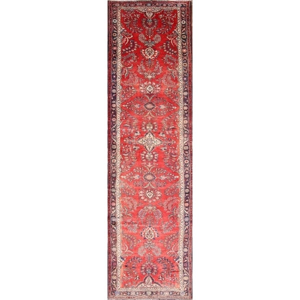 14 Ft Long Fl Traditional Hamadan Persian Rug Runner For Hallway X27