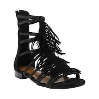 Women's Azura Dashuri Gladiator Sandal Black Synthetic