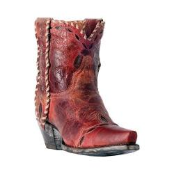 Women's Dan Post Boots Livie Cowboy Boot DP3748 Red Leather