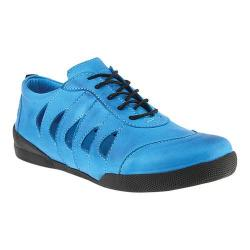 Women's Spring Step Konak Sneaker Blue Leather (More options available)