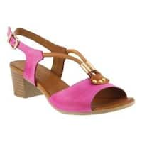 Women's Spring Step Roselyn Slingback Hot Pink Leather