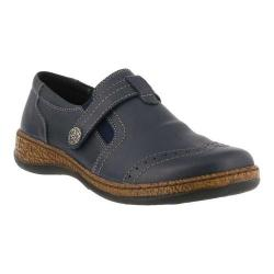Women's Spring Step Smolqua Loafer Navy Leather