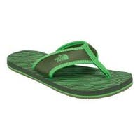Children's The North Face Base Camp Flip-Flop English Green/Classic Green
