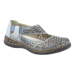 Women's Rieker-Antistress Daisy 75 Mary Jane Sky/Sky Leather