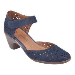 Women's Easy Spirit Cindie Ankle Strap Shoe Navy