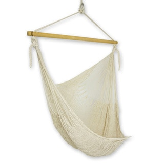 Handmade Large Deluxe Deserted Beach Swing Hammock (Mexico)
