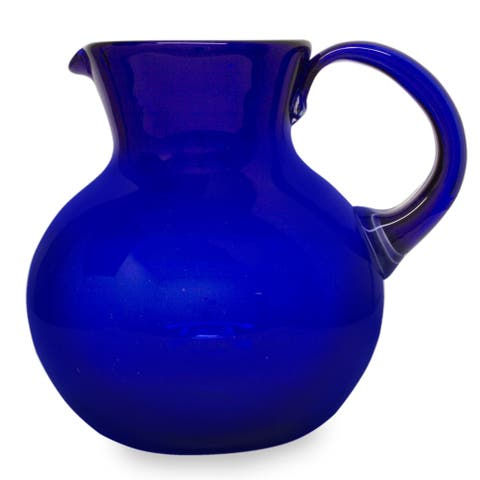 Glass pitcher Cobalt Light Special Occasion Tableware - N/A