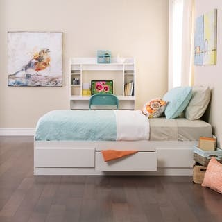 White Twin Mate's Platform Storage Bed with 3 Drawers|https://ak1.ostkcdn.com/images/products/2460960/P10687548.jpg?impolicy=medium