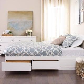 Laurel Creek Vera White Full/Double Platform Storage Bed
