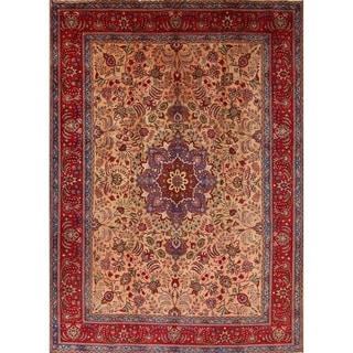 "Oriental Hand Made Tabriz Persian Area Rug for Living Room - 13'4"" x 9'6"""