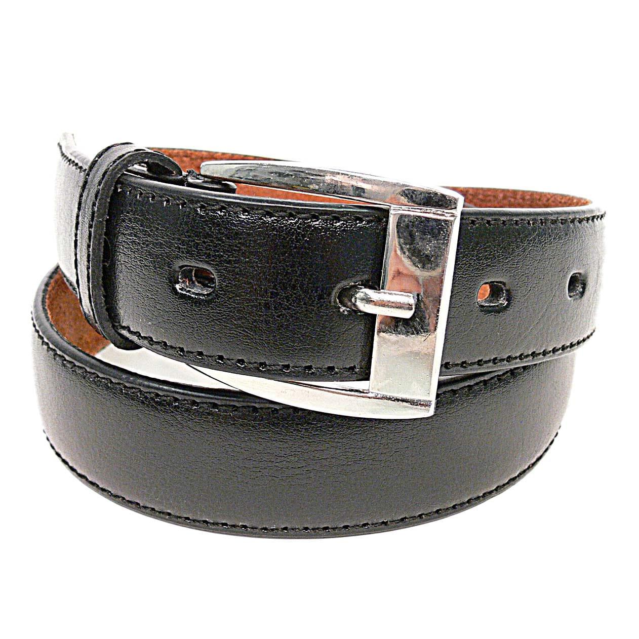 Boston Traveler Genuine Leather Boy's Belt - Thumbnail 1