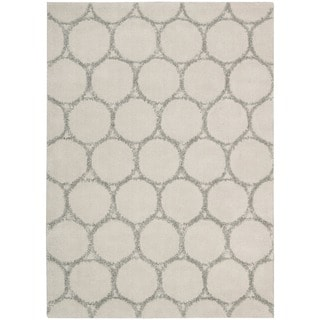 Mina Victory Monterey Silver Area Rug by Nourison (3'6 x 5'6)