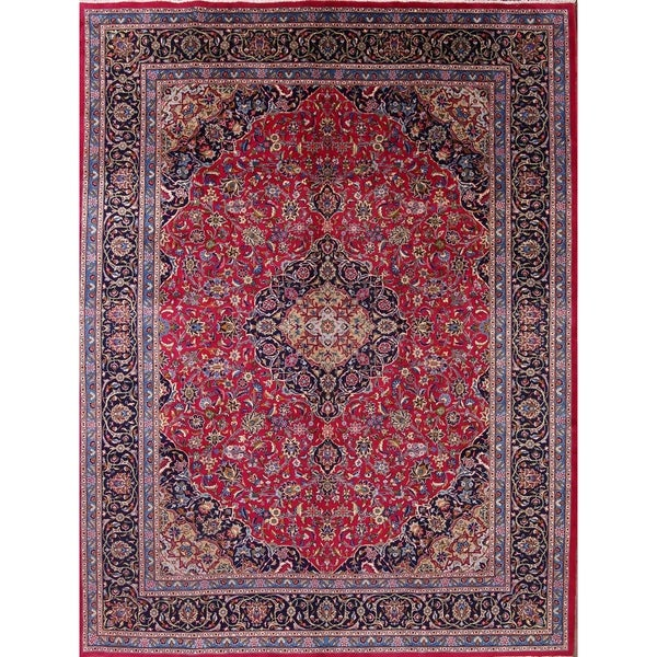 Shop Kashmar Handmade Vintage Wool Medallion Persian