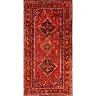 """The Curated Nomad Hammond Handmade Ghashghaei Persian Heirloom Item Area Rug - 7'6"""" x 3'11"""""""