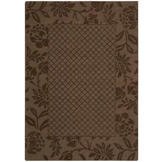 Nourison Barclay Butera Hand-tufted Chocolate Rug (7'9 x 9'9)