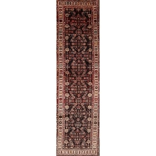 """The Curated Nomad Boyd Vintage Malayer Handmade Persian Heirloom Item Area Rug - 12'6"""" x 3'6"""" runner"""