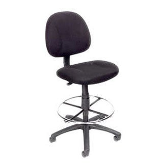 Boss Contoured Comfort Adjustable Rolling Drafting Stool Chair (4 options available)