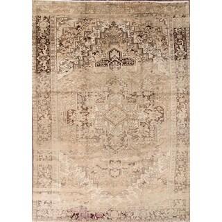 "Oriental Hand Made Heriz Persian Area Rug for Living Room - 13'3"" x 9'5"""