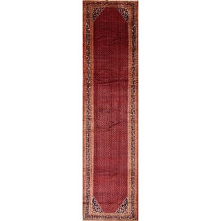 The Curated Nomad Haig Handmade Wool Palace-size Hallway Heirloom Item Area Rug - 16'3 x 4'1 runner