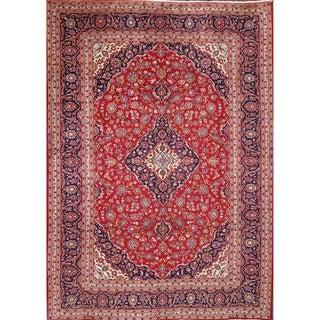 "Kashan Persian Oriental Handmade Medallion Area Rug for Bedroom Wool - 11'7"" x 8'3"""