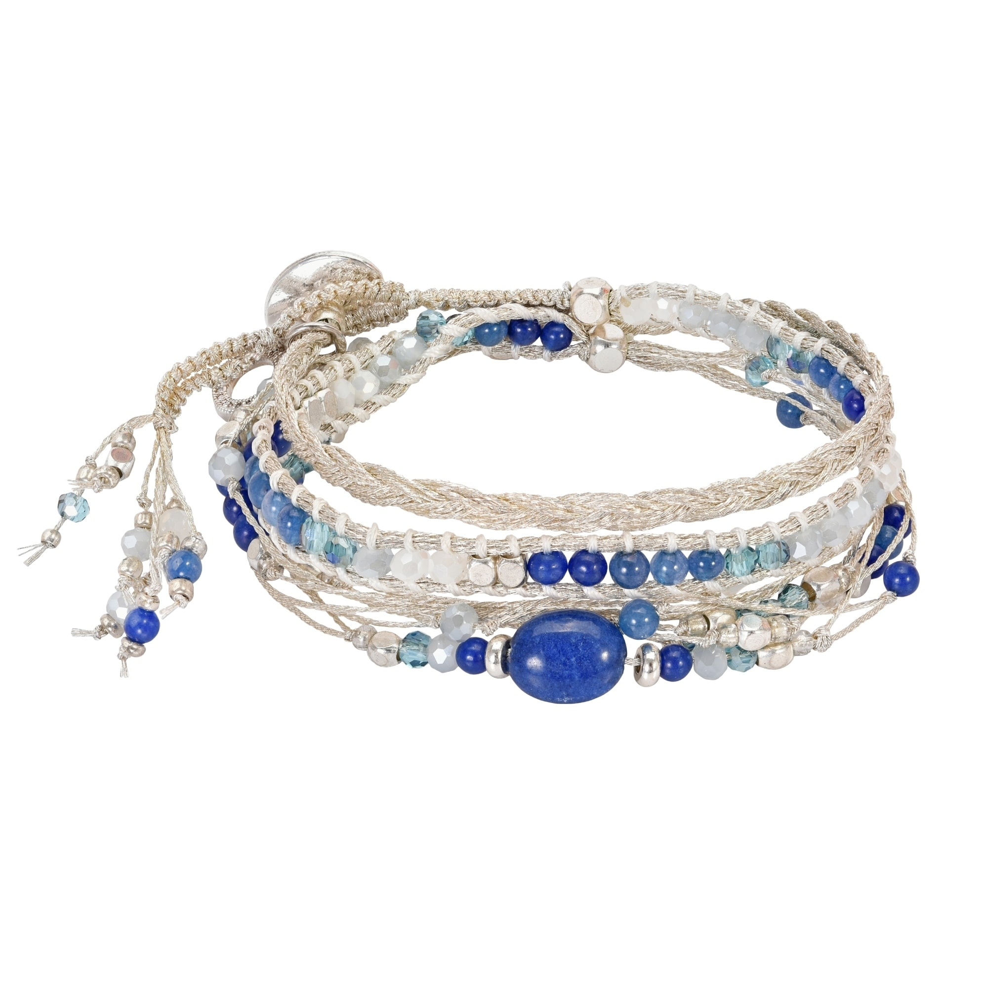Gorgeous Blue Dyed Sapphire Sterling Silver Overlay 16 Grams Bangle//Bracelet Free Size