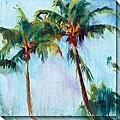 Gallery Direct Allyson Krowitz Winter Palm Canvas Art