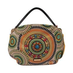 Women's Nicole Lee Elin Boho Chic Hobo Bag Mustard