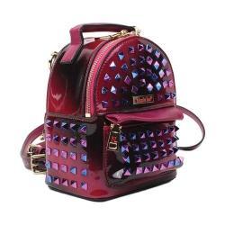 Women's Nicole Lee Harlow Hologram Mini Backpack Purple