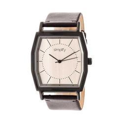 Simplify The 5400 Leather Band Watch Bronze/Dark Brown