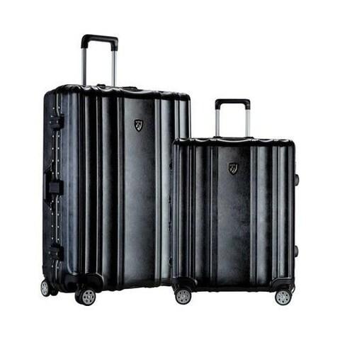 Travelers Club Donna Aluminum Frame 3-piece Spinner Luggage Set