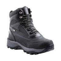 Men's Kodiak Brenton Winter Hiking Boot Black Leather/Nylon