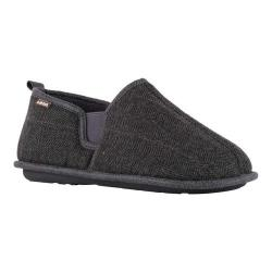 Men's Lamo Elk Slipper Charcoal Plaid