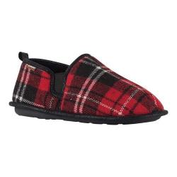 Men's Lamo Elk Slipper Red Plaid