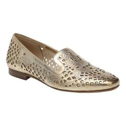 Women's Naturalizer Eve Smoking Loafer Gold Leather (More options available)