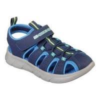 Boys' Skechers C-Flex Fisherman Sandal Navy/Blue