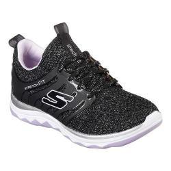 Girls' Skechers Diamond Runner Sparkle Sprints Sneaker Black/Lavender