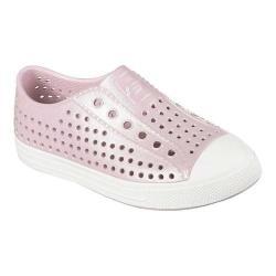 Girls' Skechers Guzman 2.0 Aqua Shimmers Sneaker Rose Gold