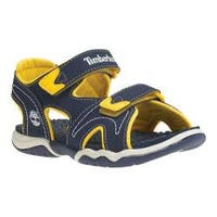 Children's Timberland Adventure Seeker 2-Strap Sandal Youth Navy/Yellow Synthetic